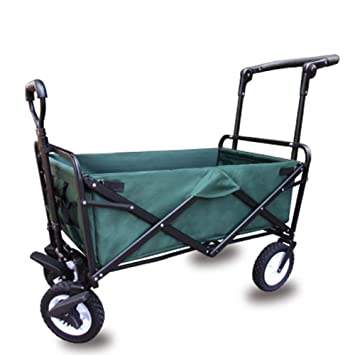 Carrito De Compras Marco De Acero Plegable Portátil Camping Wagon Para Carro De Playa Al Aire Libre,3: Amazon.es: Hogar