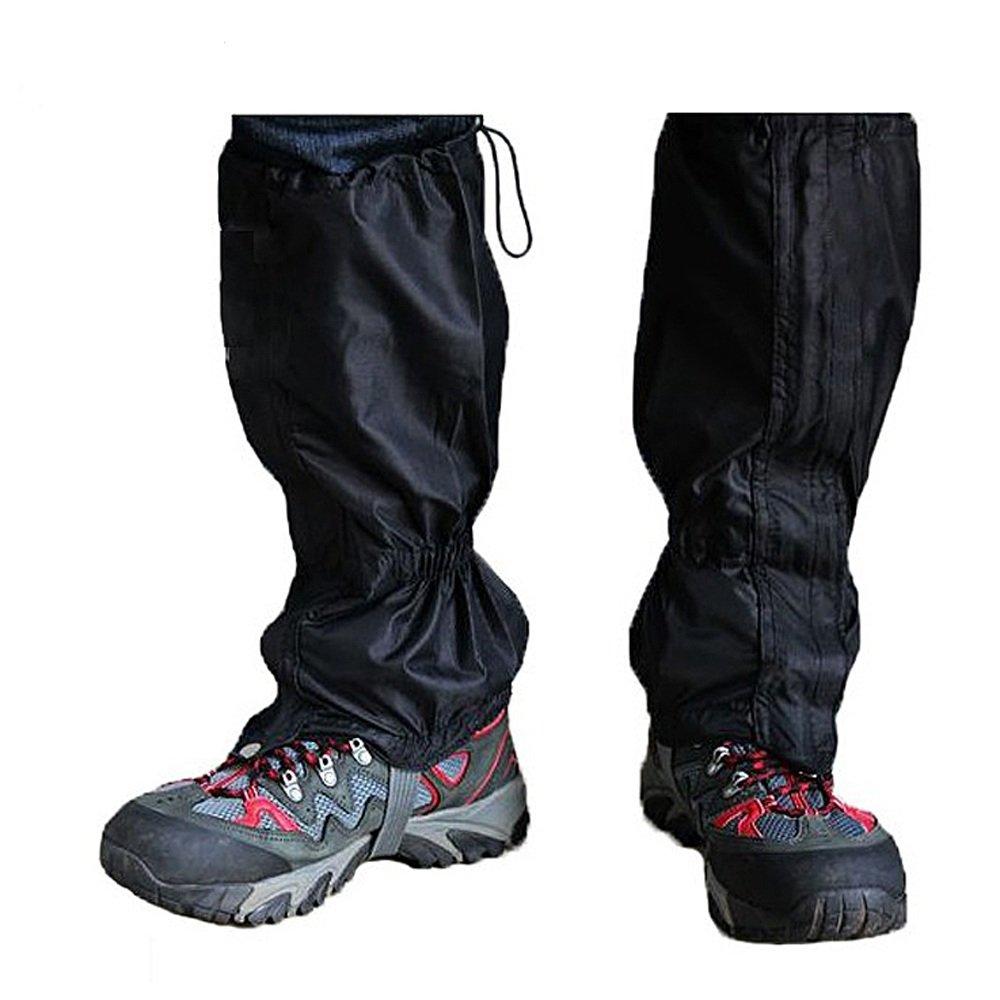 Trixes 1 Paar wasserdichte Gamaschen für Outdoor-Hosen zum Wandern, Klettern und Schneewandern FF91