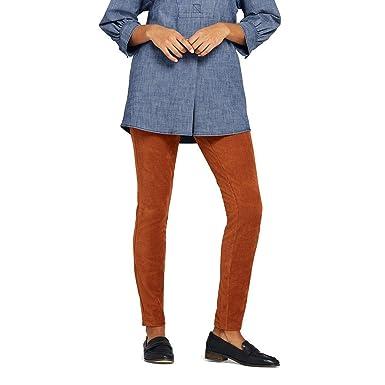 0728ad4ebcaf6 Lands  End Women s Petite Sport Knit Corduroy Leggings at Amazon ...