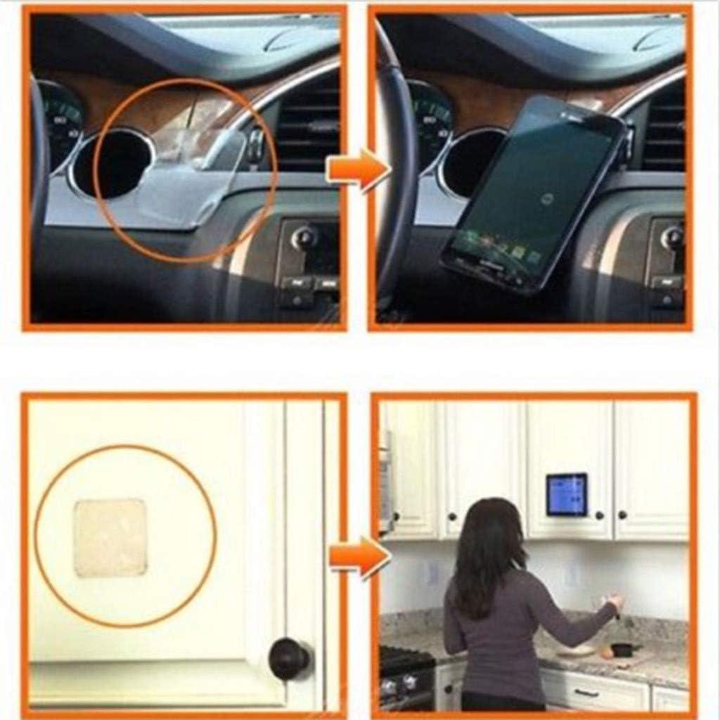 Ikevan 5 Pcs//10 PCS Anti-slip Pad Grip Sticky Anti Slip Pads Kitchen Car Holder Super Easy Gripping Pad 5 Pcs