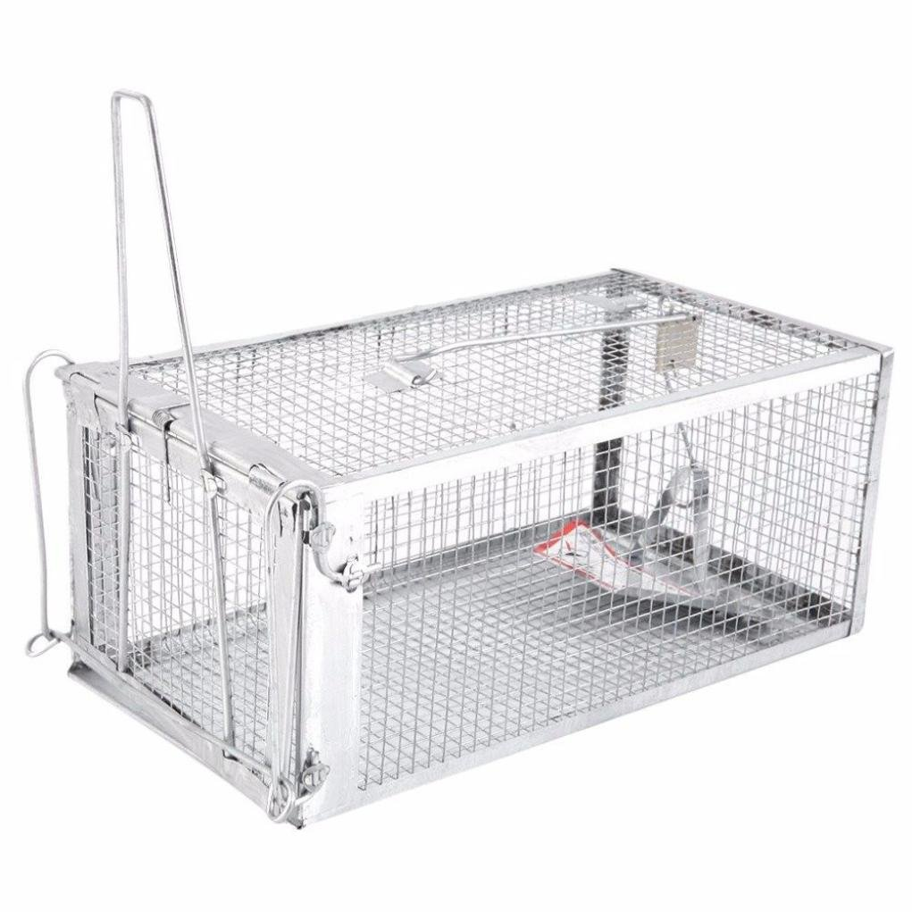 Rat Traps,Rodent Animal Mouse Humane Live Trap Hamster Cage Mice Rat Control Catch Bait
