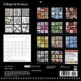 Collage de couleurs : Une collection de photos vives en couleurs avec des impressions du monde entier. À chaque mois sa couleur ! Calendrier mural 2017