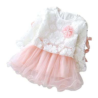 6df19101fbb6 Iuhan Autumn Infant Baby Kids Girls Fashion Party Lace Lovely Tutu ...