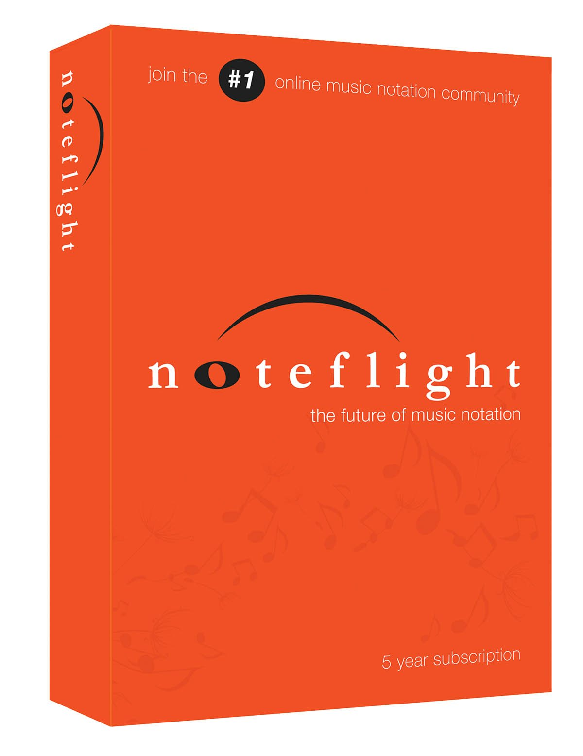 Noteflight 5 Year Subscription Retail Box