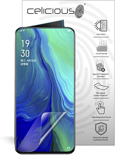 Celicious Impact Anti-Shock Shatterproof Screen Protector Film Compatible with Realme X2 Pro