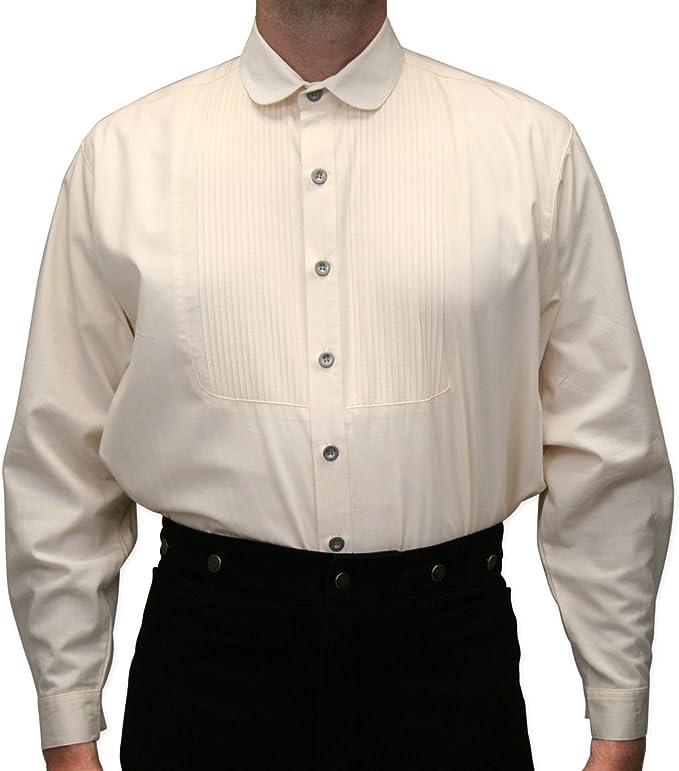 Men's Round Club Collar Shirt