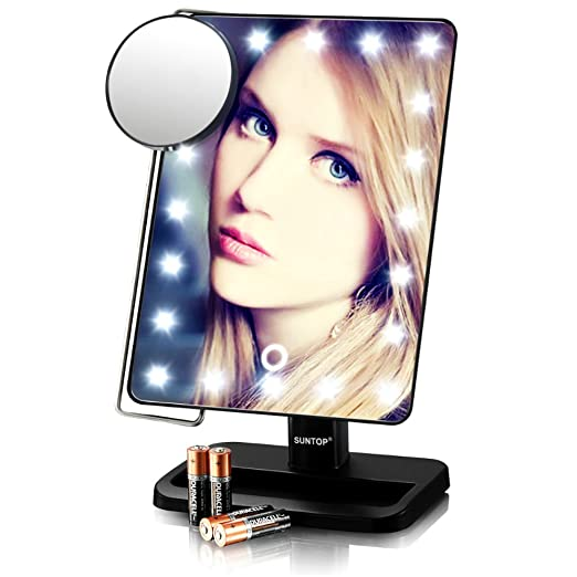 best lighted mirror reviews