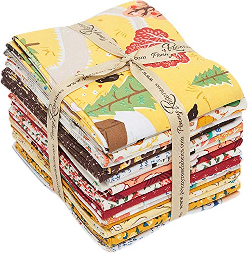 Lauren Nash Calico Crow 21 Fat Quarters Penny Rose Fabrics