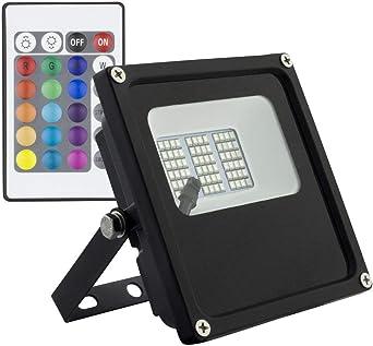 Foco Proyector LED Epistar RGB 10W: Amazon.es: Iluminación