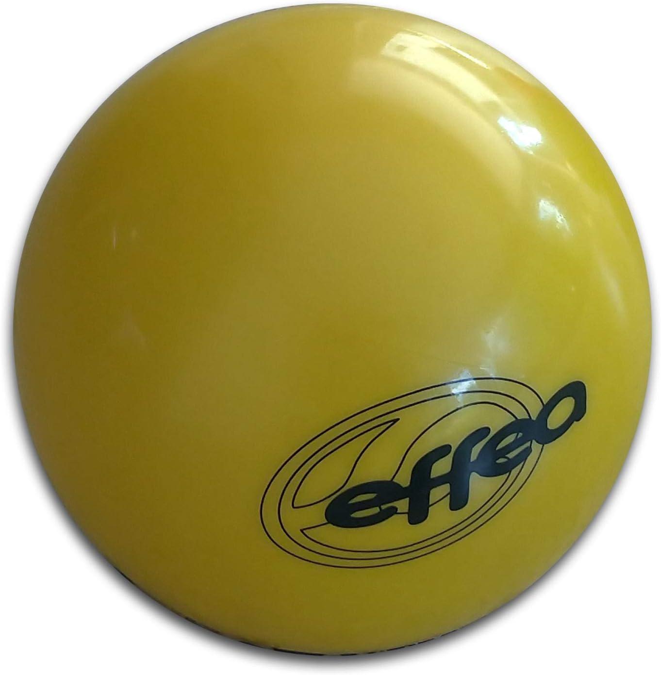 Effea Sport - Pelota para gimnasia rítmica, art.EF8280/L., amarillo: Amazon.es: Deportes y aire libre