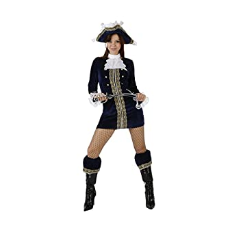 Desconocido Disfraz de pirata sexy para mujer: Amazon.es: Juguetes ...