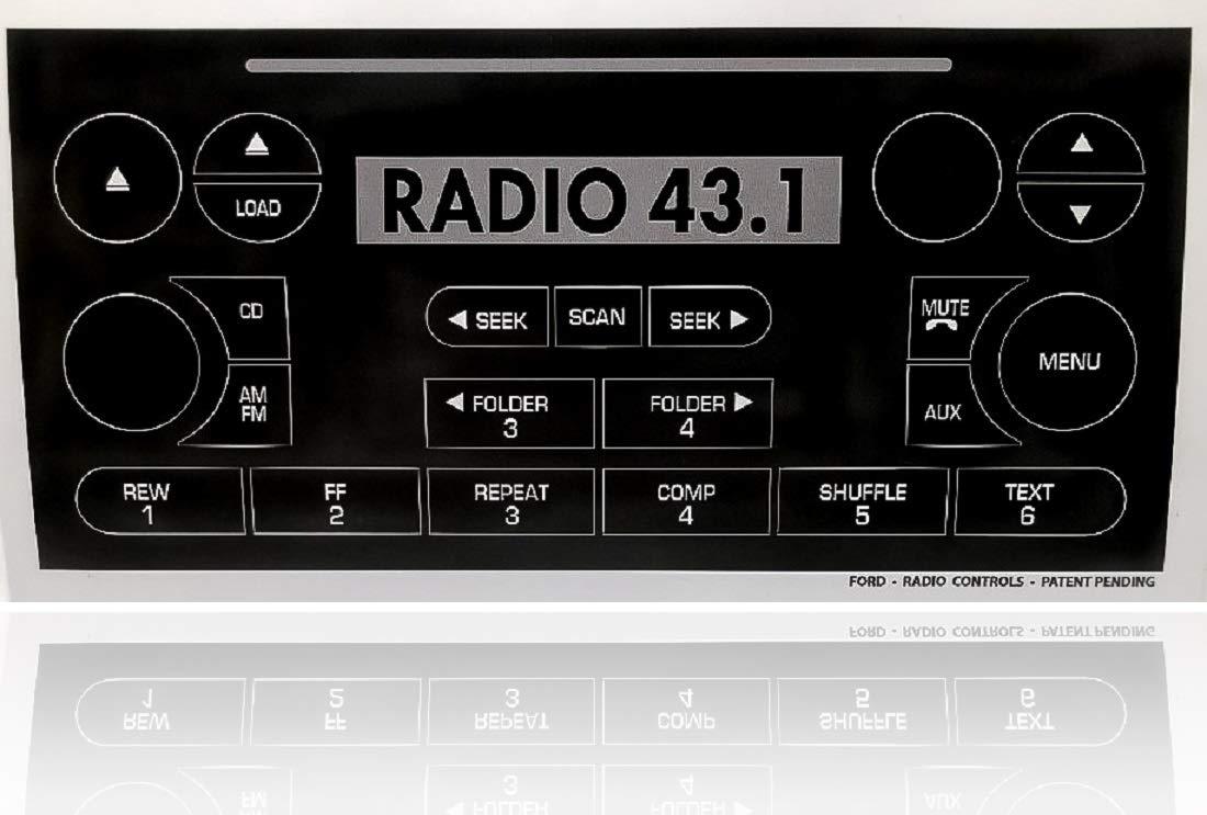 2007 ford explorer radio display repair