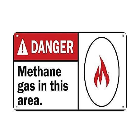 No dream Danger Methane Gas in This Area. Hazard Sign Danger ...