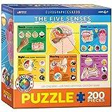 Eurographics Five Senses Jigsaw Puzzle (200-Piece)