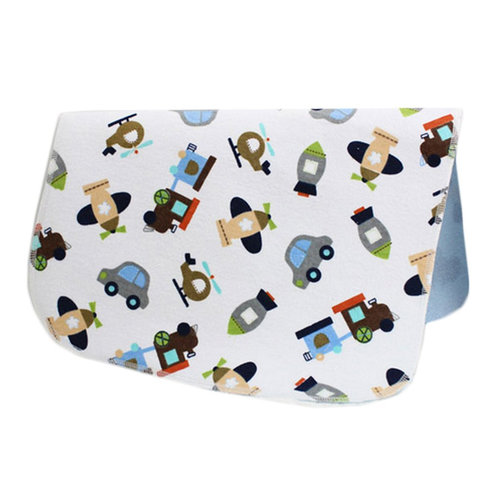 [1927 Inch] Lovely Waterproof Breathable Baby Urine Pad-Car and Plane