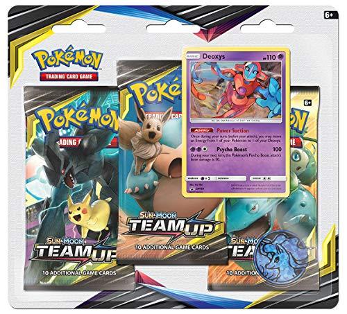 Pokémon TCG: Sun & Moon-Team Up Three-Booster Blister