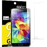 Pack de 2 Verre Trempé Samsung Galaxy S5 MINI, NEWC® Film Protection en Verre trempé écran Protecteur vitre - ANTI RAYURES - SANS BULLES D'AIR -Ultra Résistant Dureté 9H pour Galaxy S5 MINI