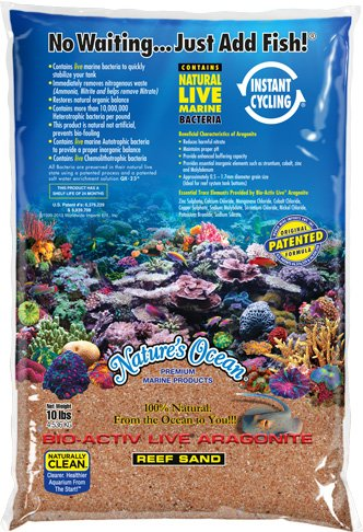 Worldwide Imports AWWA10781 Live Aragonite Sand, 20-Pound, Gold by Worldwide Imports