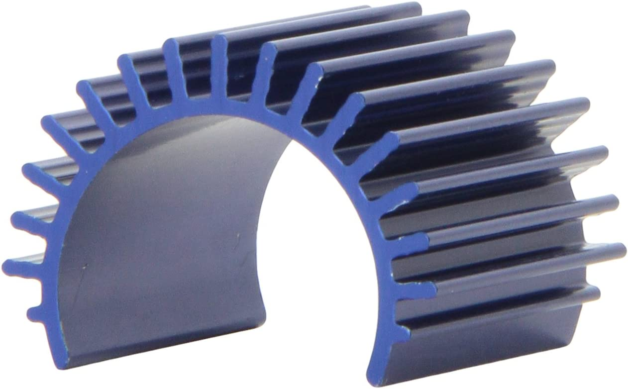 Blue-Anodized Aluminum Heat Sink fits 1/16 Scale Velineon 380 brushless Motors
