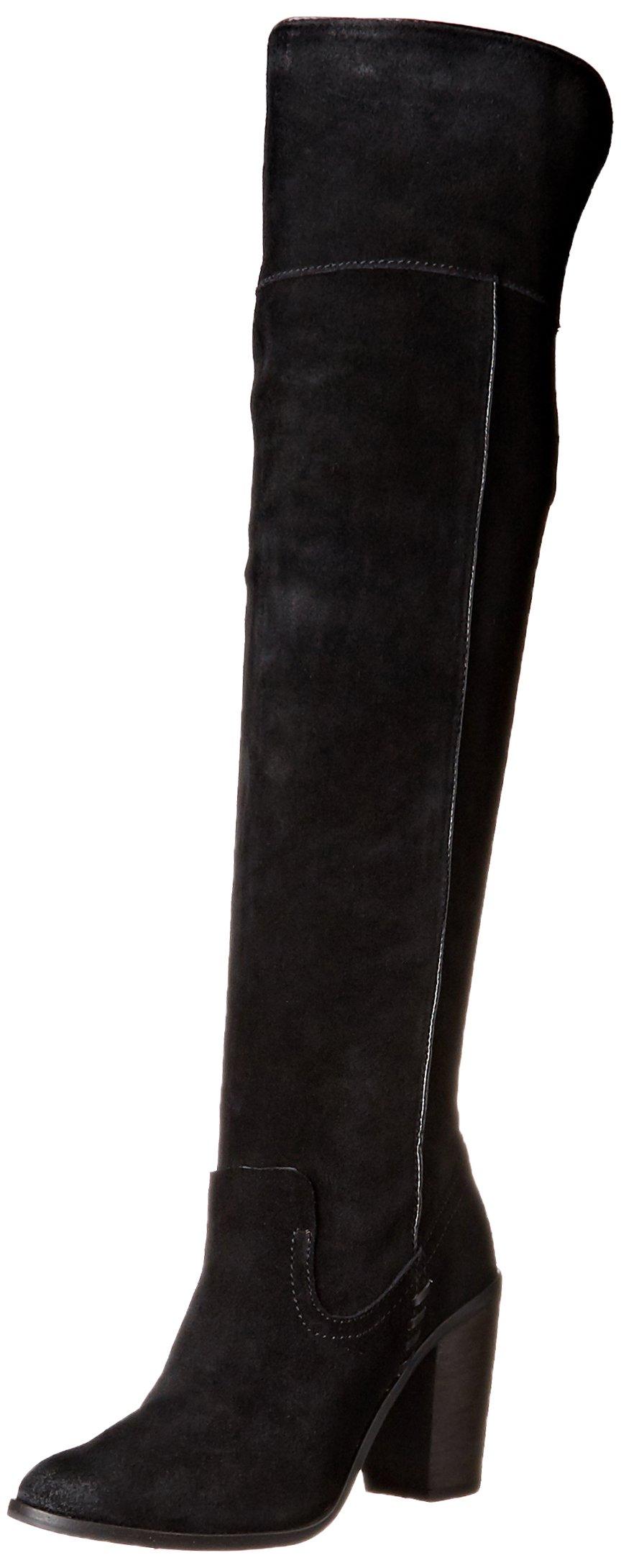 Dolce Vita Women's Orien Western Boot, Black, 10 M US