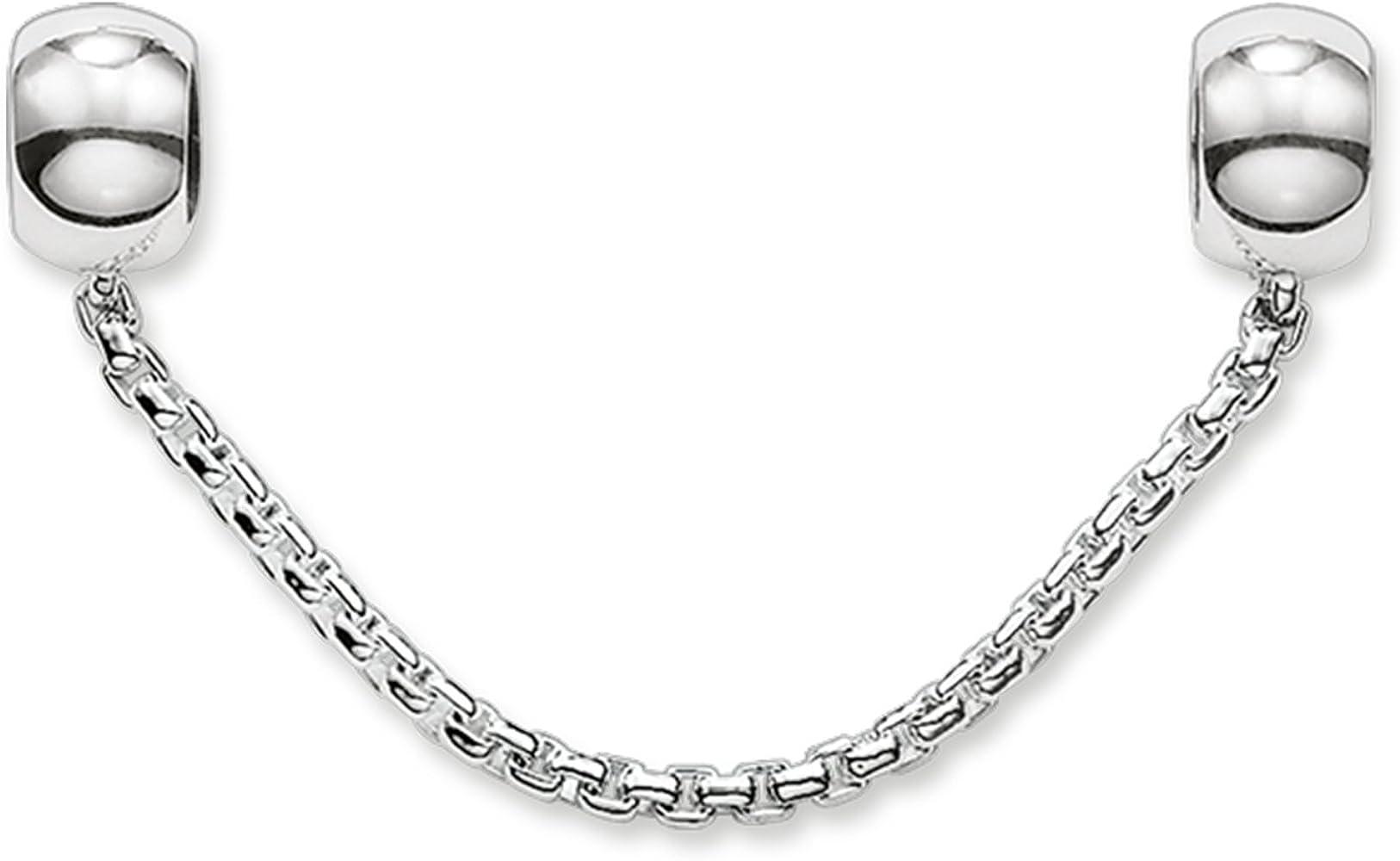 Thomas Sabo Karma Beads Silicona KS0004-585-12 Unisex cadena de seguridad Plata de ley 925