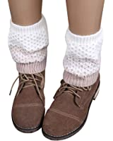 Clearance! Coromose Jacquard Knitted Cuffs Toppers Liner Boot Leg Warmers Socks