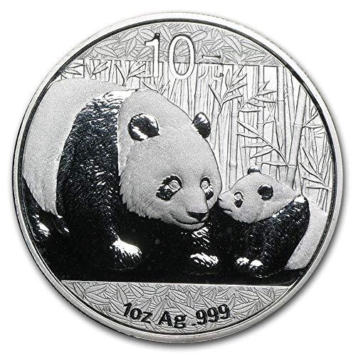 2011 CN China Silver Panda Commemorative Ungraded