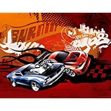 Hot Wheels Race Car Edible Image Photo Sugar Frosting Icing Cake Topper Sheet Birthday Party - 1/4 Sheet - 79049