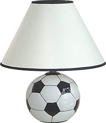 Exceptionnel 12u0026quot;H Ceramic Soccer Sports Table Lamp   604SC