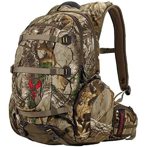 Badlands Superday Camouflage Hunting Backpack - Bow, Rifle, and Pistol Compatible, Realtree Xtra