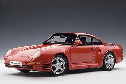 Amazon Porsche 959 Red Auto Art 78082 118 Scale