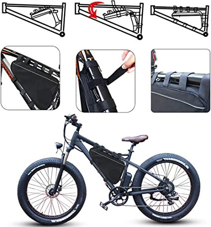 UnitPackPower Bicycle Triangle Frame Battery 48V20AH,E-Bike Battery 48V for 1500W//1000W Bike Motor,with Charger
