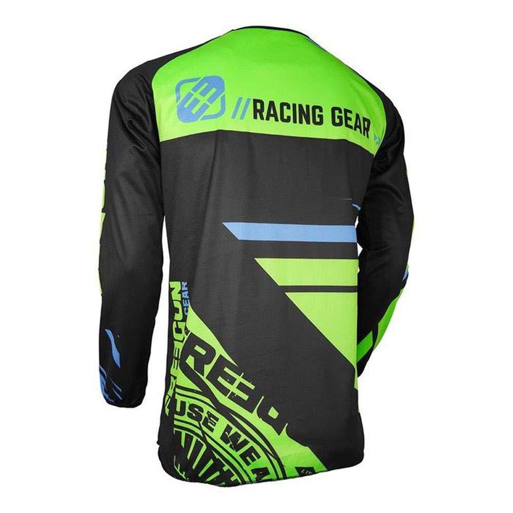 neongr/ün Shot FREEGUN DEVO KID NERVE Motocross Kinder Jersey 2018