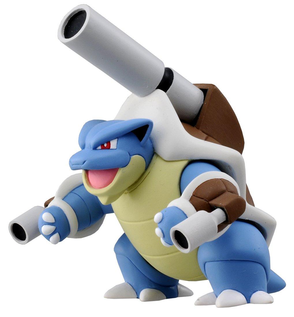 TAKARA TOMY Takaratomy SP-17 Official Pokemon X and Y Mega Blastoise Figure