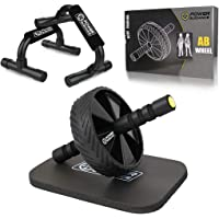 POWER GUIDANCE Rodillo para Abdominales AB Roller