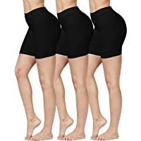SIMIYA Slip Shorts, 3 Pack Women's Comfortable Seamless Smooth Panties Slip Shorts for Under Dresses
