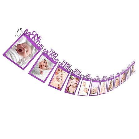 Spritumn - Carpeta para álbum de fotos de bebé, 1 - 12 meses ...
