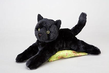 Douglas Cuddle Toys Plush Tug Black Cat Soft And Cuddly 14quot