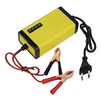 Tonysa 12V 2A Cargador de batería Inteligente Batería ...