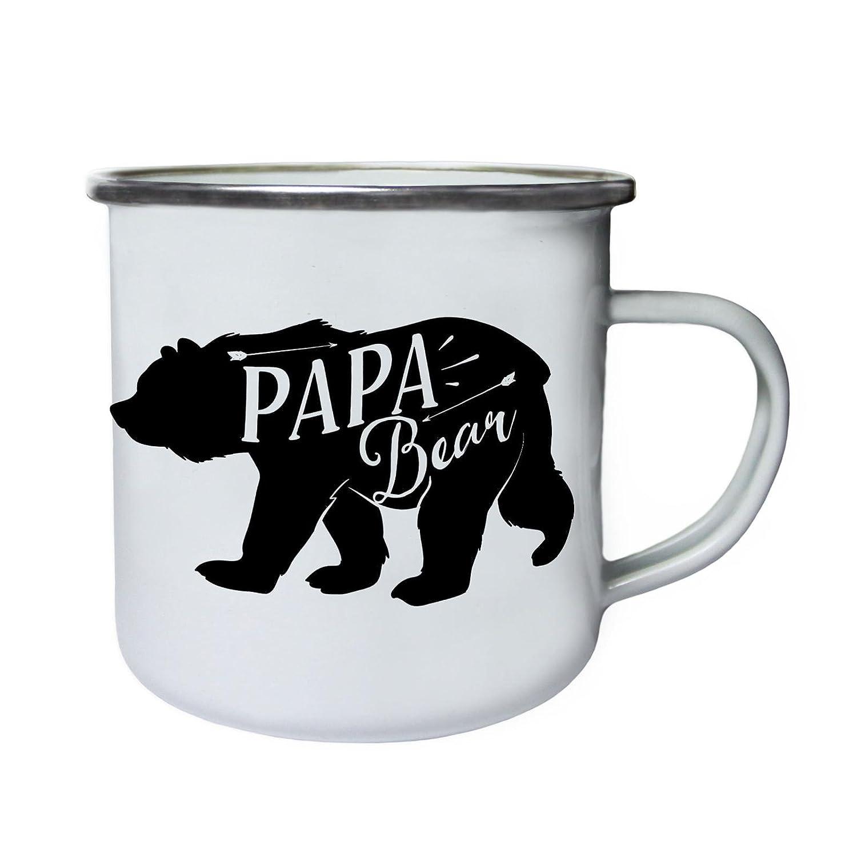 【ご予約品】 Papa Papa Bearレトロ、Tin、エナメル10ozマグj339e B0737Y7X1Z B0737Y7X1Z, オノダシ:c3ea6cfa --- movellplanejado.com.br