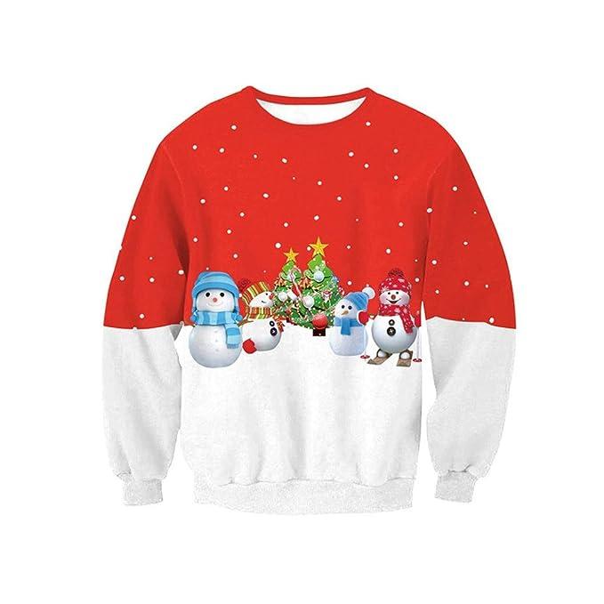 cute snowman shirt blouse leyorie women long sleeve pullover sweatshirt christmas t shirt tops