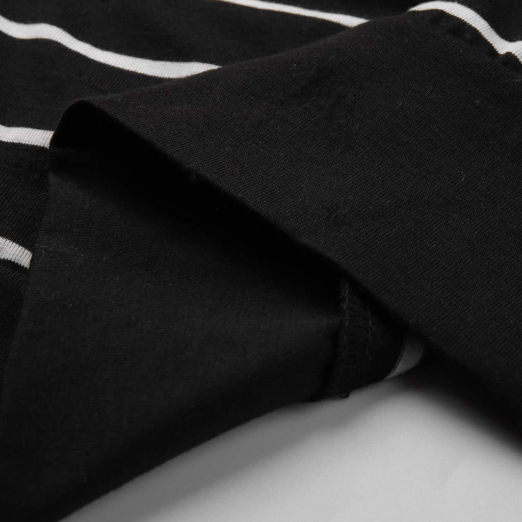 Tigivemen Women Fashion Casual Long Sleeve Striped Long Type Kimono Cardigans Outerwear