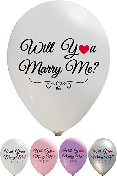 Marriage Proposal Ideas Valentines Day Balloons Will You Marry Me Balloons