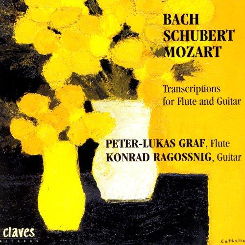 Transcriptions for Flute & Guitar: Bach / Schubert / Mozart