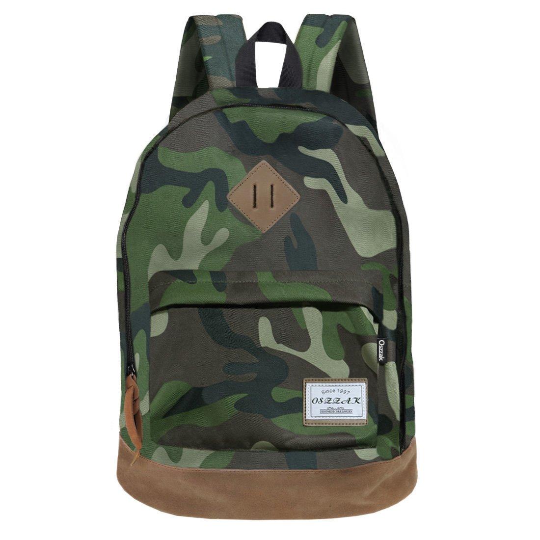 Rucksack Schulrucksack Jugendliche Backpack Rucksäcke mit Laptopfach für Camping Outdoor Sport FBA-W10381BLK