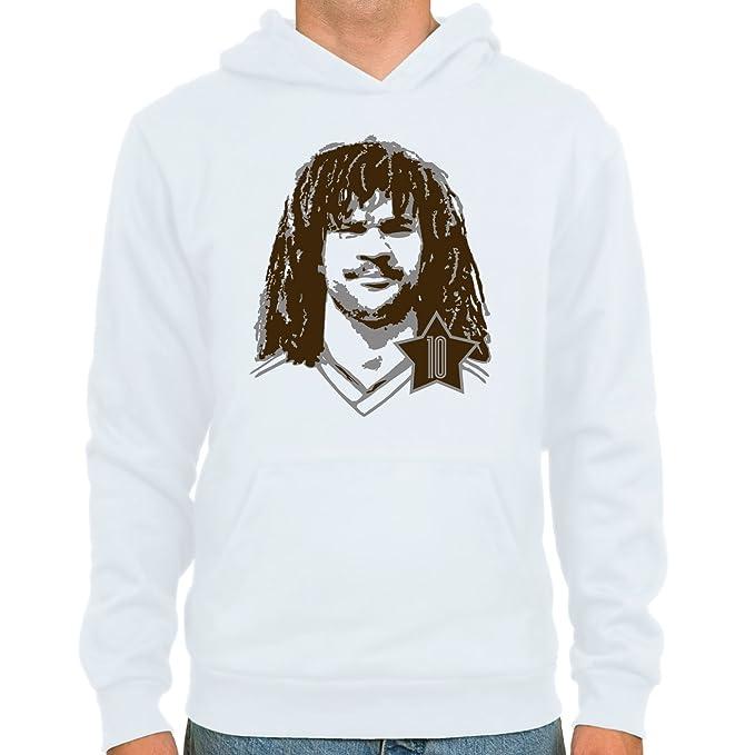 : SpielRaum T-Shirt Ruud Gullit skyblue : Gr/ö/ßen : Fu/ßball-Kult Farbauswahl sand oder wei/ß S-XXL