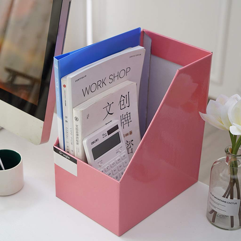WJF Office Desk-Dateikorb Dateihalter Aufbewahrungsbox Aufbewahrungsbox Aufbewahrungsbox Große Kapazität Multifunktional Büro Kraftpapier Aufbewahrungsbox Desktop Finishing Stand Buchen (Farbe    2) B07NZC83WV | Moderne und stilvolle Mode  d13ffb