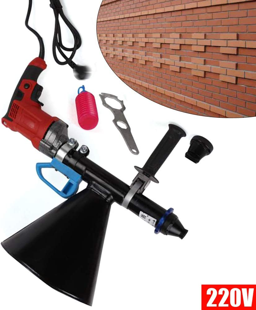 mortero ladrillo y aplicador de juntas R/ápida aplicador junta de mortero mortero el/éctrico mortero pistola el/éctrica semiautom/ática