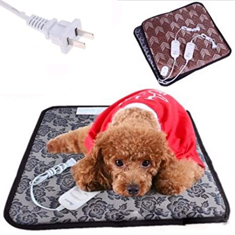 DYY3576/n1 - Manta térmica eléctrica para mascotas, 45 x 45 ...