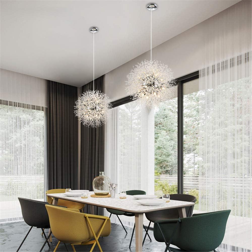 Ceiling Lights BAYCHEER Crystal Chandelier 8 Lights Modern Pendant